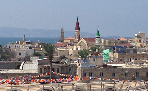 A view of Old Akko