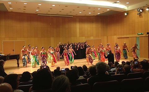 Al Ba'ath - The Arab voices of Galilee and the Manado State University Choir from Indonesia