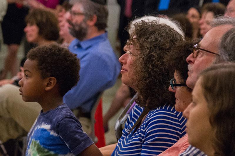 Watching Zamir & Jerusalem Youth Chorus at State House - 061815