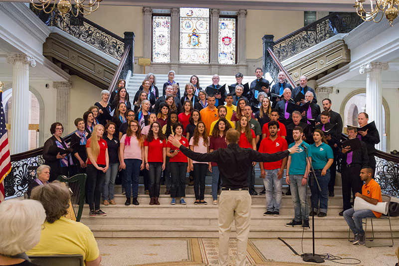 Zamir & Jerusalem Youth Chorus at State House - 061815