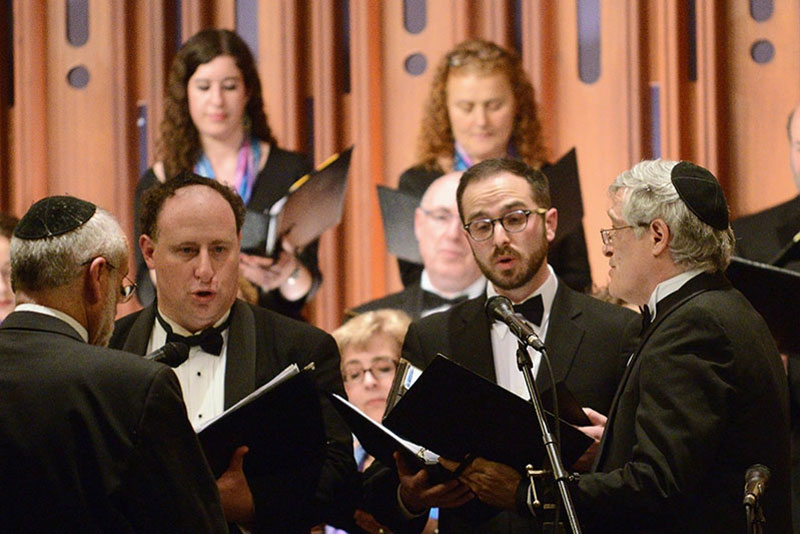 (from left to right) Josh Jacobson, Devin Lawrence, Kyler Taustin, Steve Ebstein