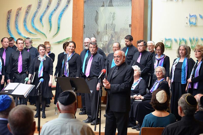 Congregation Beth Elohim, Josh speaking
