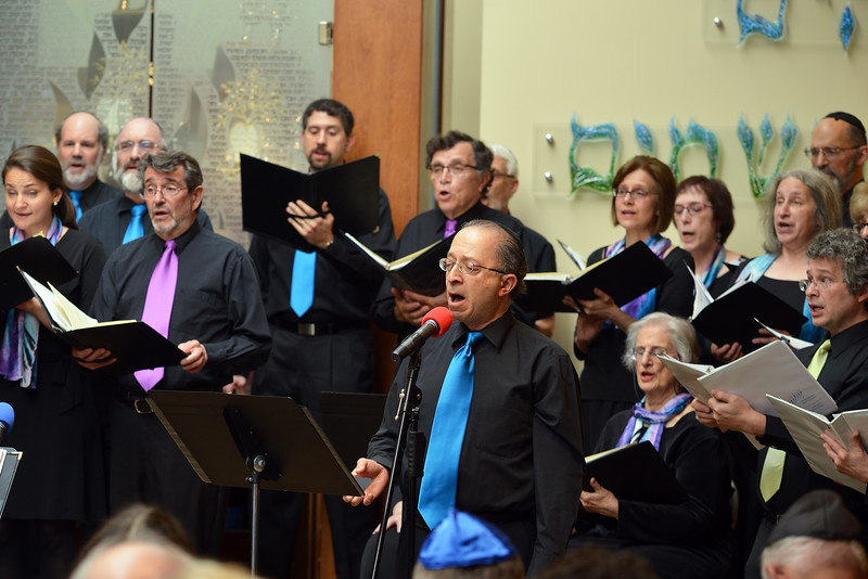 Congregation Beth Elohim, Hal as soloist