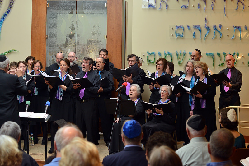 Congregation Beth Elohim, right side of chorus