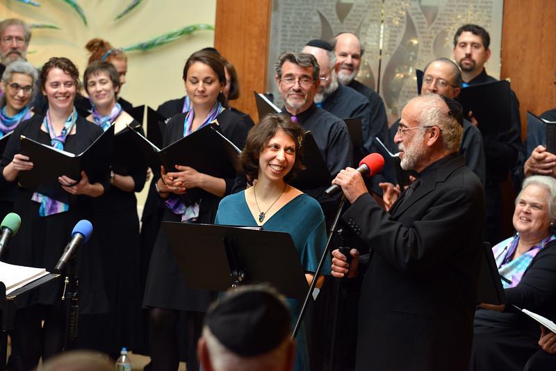 Congregation Beth Elohim, Josh and Cantor