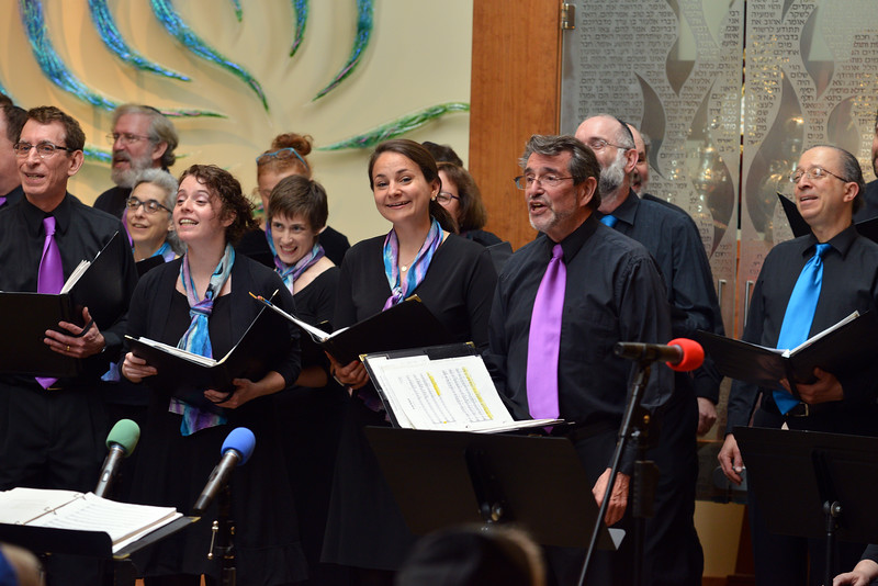 Congregation Beth Elohim, with smiles
