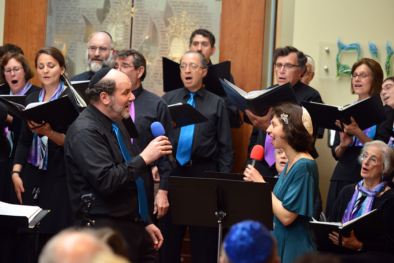 Congregation Beth Elohim, Larry and Cantor in Duet