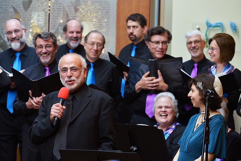 Congregation Beth Elohim, telling a joke