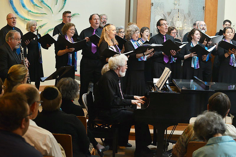Congregation Beth Elohim, piano and clarinet