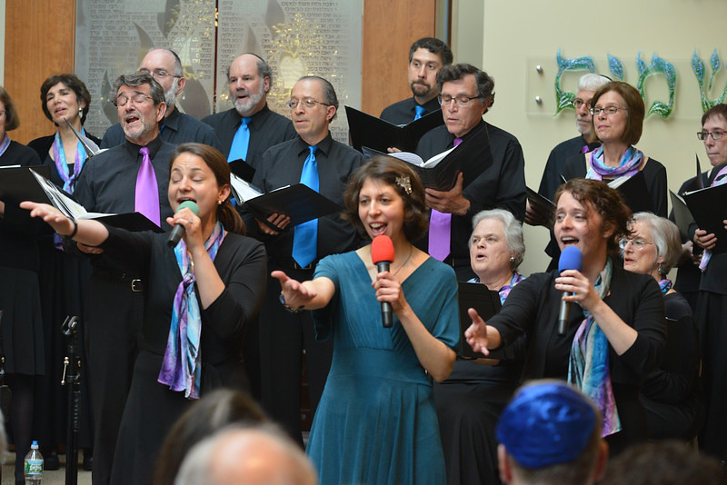 Congregation Beth Elohim, three-some