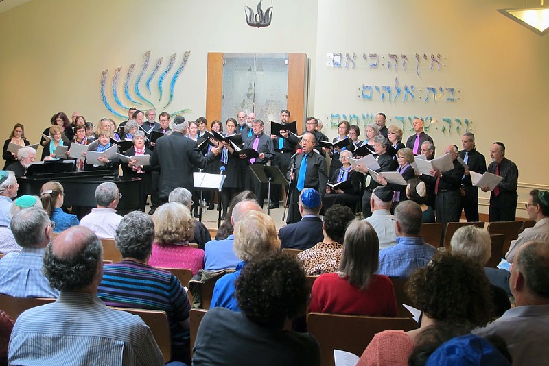 Congregation Beth Elohim, whole group