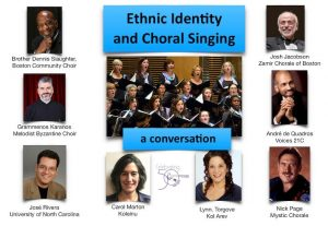 Symposium on Ethnic Identity and Choral Singing @ Hebrew College
