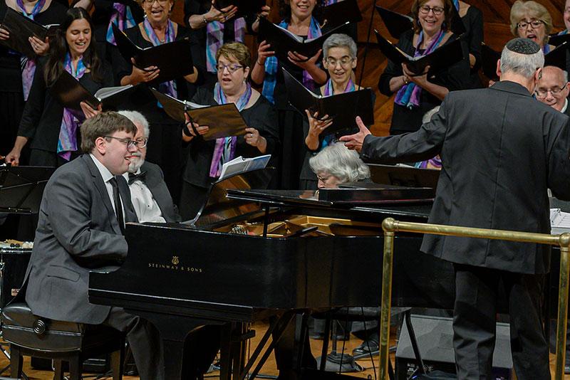 Jeremiah Klarman, Ed Swanborn at piano