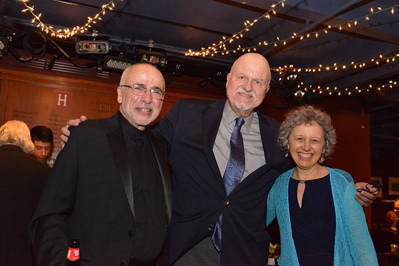 Josh Jacobson, Cantor Charles Osborne, Cantor Benjie Ellen Schiller