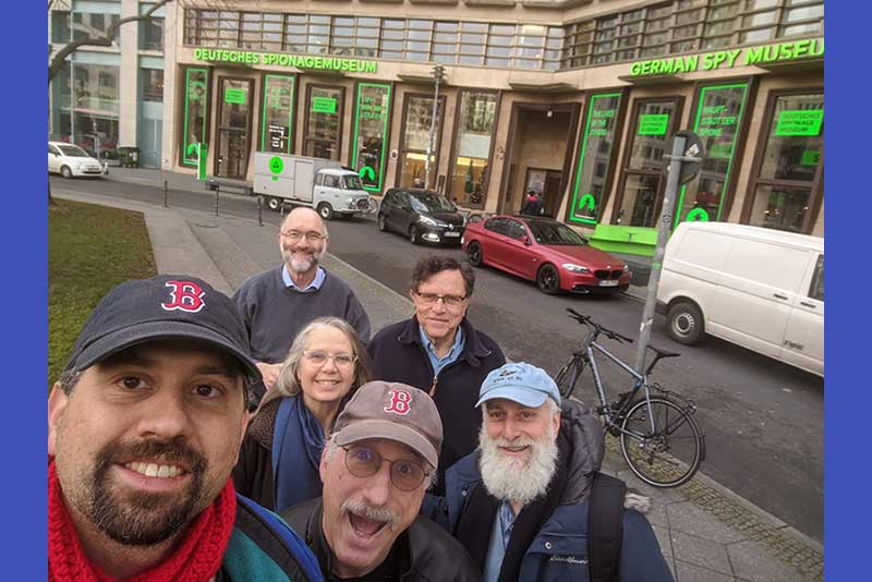 Kevin Martin, Louise Treitman, Rich Lustig, Mark Stepner, Mike Victor, Yishai SeredJill and Steve Ebstein